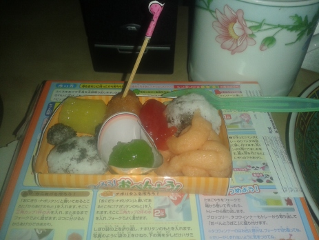 ......looks nothing like the picture on the box. I find it really difficult to get the panda and the onigiri (Japanese rice ball) to look right.